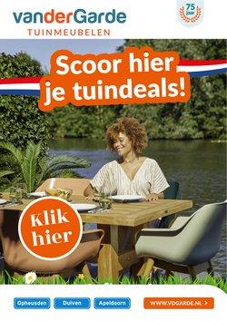 Aanbiedingen van Van der Garde tuinmeubelen in the Van der Garde tuinmeubelen folder ( Net gepubliceerd)