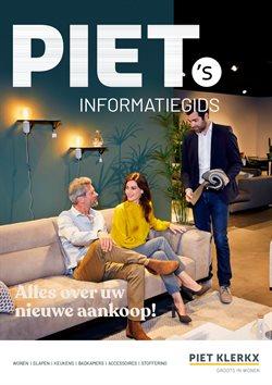 Catalogus van Piet Klerkx ( Verloopt morgen )