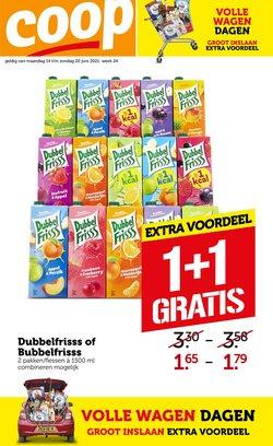 Aanbiedingen van Supermarkt in the Coop folder ( Net gepubliceerd)