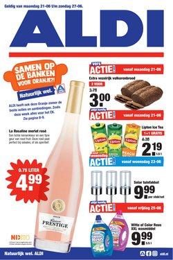 Aanbiedingen van Supermarkt in the Aldi folder ( Net gepubliceerd)