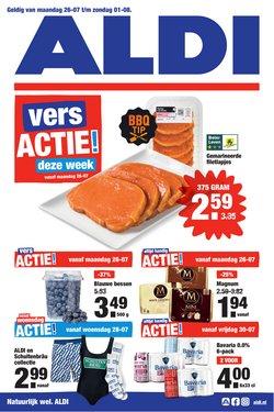 Aanbiedingen van Supermarkt in the Aldi folder ( Nog 2 dagen)