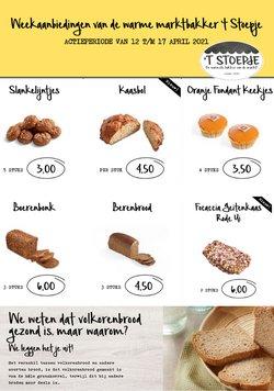 Supermarkt Aanbiedingen in de Bakkerij 't Stoepje folder in Amsterdam ( Vervalt vandaag )