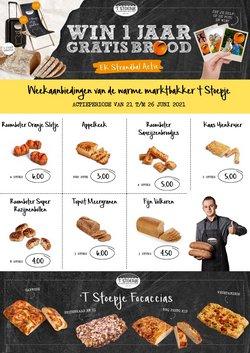 Aanbiedingen van Bakkerij 't Stoepje in the Bakkerij 't Stoepje folder ( Net gepubliceerd)