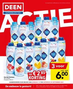 Aanbiedingen van Supermarkt in the Deen folder ( Verloopt morgen)