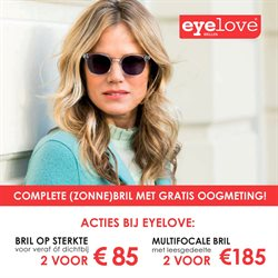 b03e7b212cd28c Opticien Aanbiedingen in de Eyelove brillen folder in Boskoop