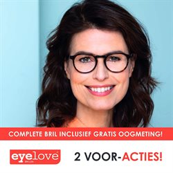 Opticien Aanbiedingen in de Eyelove brillen folder in Hilversum ( Nog 7 dagen )