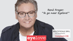 Opticien en Audicien Aanbiedingen in de Eyelove brillen folder in Hoofddorp