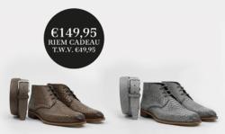 Aanbiedingen van Dungelmann schoenen in the Den Haag folder