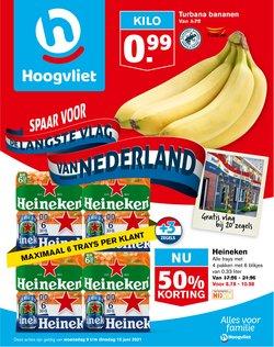 Aanbiedingen van Supermarkt in the Hoogvliet folder ( Vervalt vandaag)