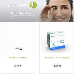 Aanbiedingen van Opticien in the Schoonenberg Hoorcomfort folder ( Net gepubliceerd)