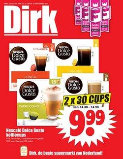 Aanbiedingen van Supermarkt in the Dirk folder ( Nog 2 dagen)