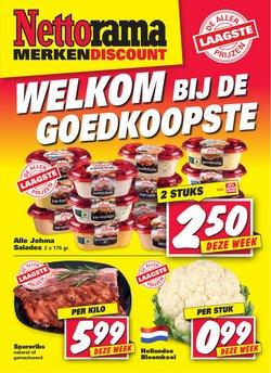 Aanbiedingen van Supermarkt in the Nettorama folder ( Nog 4 dagen)