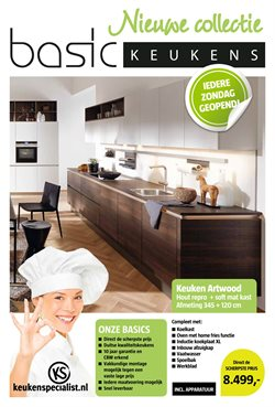 Aanbiedingen van Basic Keukens in the Alkmaar folder