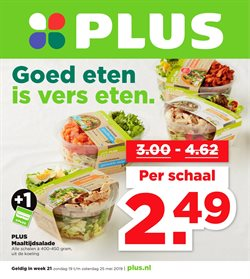 Supermarkt Aanbiedingen in de Plus folder in Stadskanaal