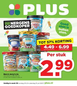 Aanbiedingen van Supermarkt in the Plus folder ( Verloopt morgen)