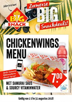 Aanbiedingen van Big Snack in the Maastricht folder