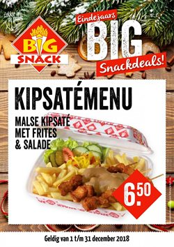 Restaurants Aanbiedingen in de Big Snack folder in Heerhugowaard