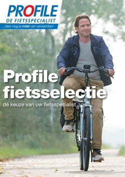 Aanbiedingen van Profile de Fietsspecialist in the Leiden folder