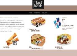 Aanbiedingen van Fast and Fresh in the Fast and Fresh folder ( Nog 9 dagen)