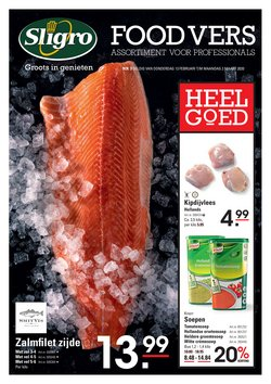 Catalogus van Sligro ( Nog 14 dagen )