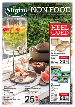 Catalogus van Sligro ( Nog 22 dagen)