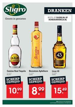 Aanbiedingen van Supermarkt in the Sligro folder ( Net gepubliceerd)