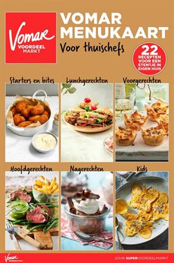 Catalogus van Vomar in Amersfoort ( Meer dan een maand )