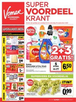 Aanbiedingen van Supermarkt in the Vomar folder ( Nog 2 dagen)