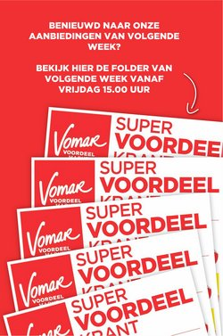 Catalogus van Vomar ( Net gepubliceerd)