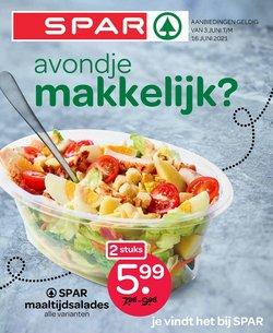 Aanbiedingen van Supermarkt in the Spar folder ( Vervalt vandaag)