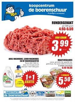 Biomarkt Aanbiedingen in de De Boerenschuur folder in Tilburg