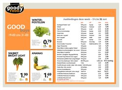 Aanbiedingen van Goodyfood in the Amersfoort folder