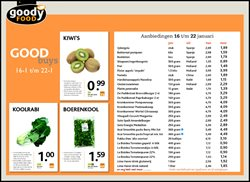Aanbiedingen van Goodyfood in the Amsterdam folder