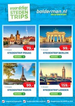 Aanbiedingen van Bolderman Excursiereizen in the Veenendaal folder