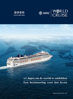Aanbiedingen van MSC Cruises in the Amsterdam folder