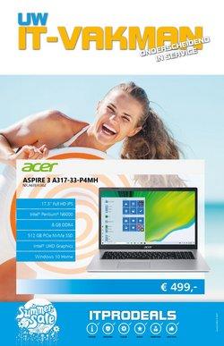 Aanbiedingen van Computers & Elektronica in the ITPRODEALS folder ( Nog 20 dagen)