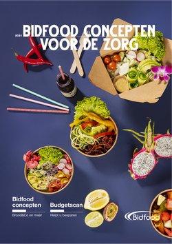 Aanbiedingen van Bidfood in the Bidfood folder ( Meer dan een maand)