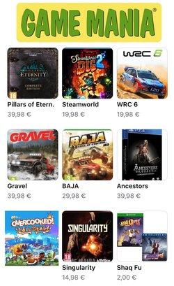 Catalogus van Game Mania ( Nog 6 dagen )