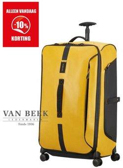 Aanbiedingen van Van Beek Lederwaren in the Van Beek Lederwaren folder ( Nog 7 dagen)