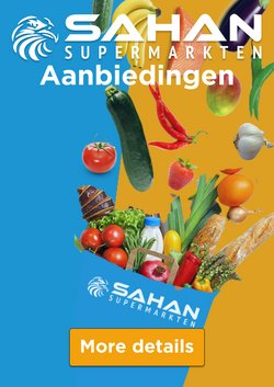 Catalogus van Sahan Supermarkten ( Nog 30 dagen)
