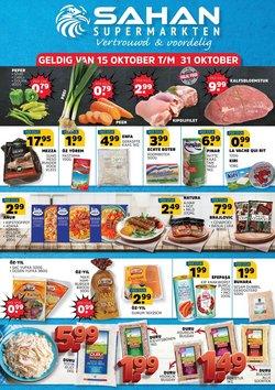 Aanbiedingen van Sahan Supermarkten in the Sahan Supermarkten folder ( Nog 5 dagen)
