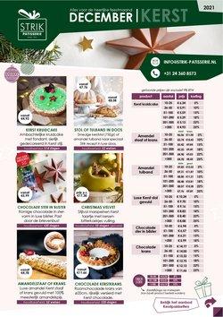 Aanbiedingen van Restaurants in the Strik Patisserie folder ( Net gepubliceerd)