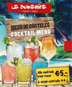 Aanbiedingen van Restaurants in the La Cubanita folder ( Nog 5 dagen)