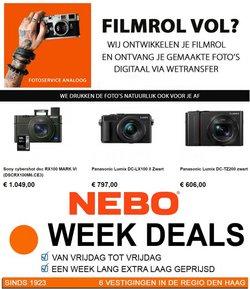 Aanbiedingen van NEBO photo & electronics in the NEBO photo & electronics folder ( Nog 3 dagen)