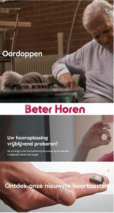 Aanbiedingen van Opticien in the Beter Horen folder ( Verloopt morgen)