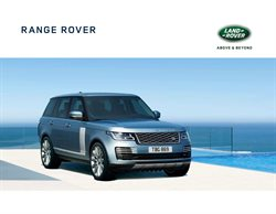 Aanbiedingen van Land Rover in the Amsterdam folder