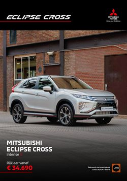 Aanbiedingen van Mitsubishi in the Hendrik-Ido-Ambacht folder