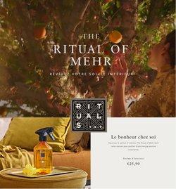 Aanbiedingen van Drogisterij & Parfumerie in the Rituals folder ( Net gepubliceerd)