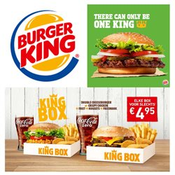 Aanbiedingen van Burger King in the Amsterdam folder