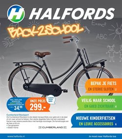 Auto en Fiets Aanbiedingen in de Halfords folder in Vught
